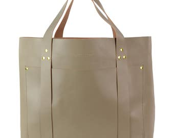 Pola XL Weekender bag, light brown