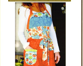 Lila Tueller Funked Out Apron Pattern,Lila Tueller Designs Pattern # 12 Funked Out Apron