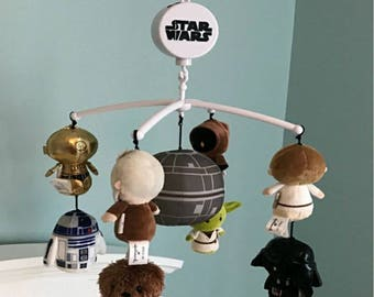 Custom Star Wars baby mobile, FREE SHIPPING!!!