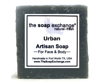 Urban Bar Soap, Natural Handmade Soap, Cold Process Soap, Artisan Soap, Olive Oil, Shea Butter, Soap Bar, The Soap Exchange