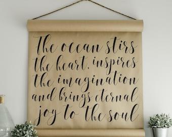 The Ocean Scroll