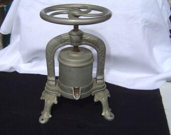 Rare ornate French Duck press 1900's