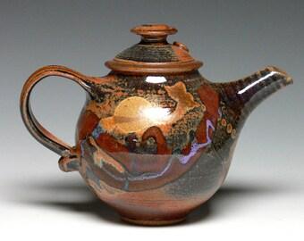 Small Pottery Teapot - Stoneware Teapot, Ceramic Teapot, Hand Thrown Teapot