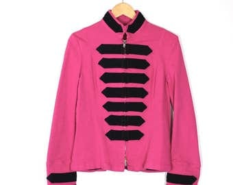 Hot Pink Sgt. Pepper Jacket by Tripp NYC