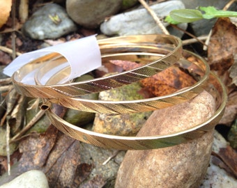 NBW Gold Toned Lead Free Bangles