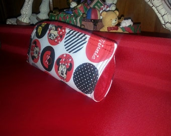 Minnie Mouse Soft Eye Glass Case