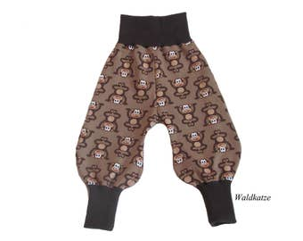 Bloomers * monkey Brown *-request size