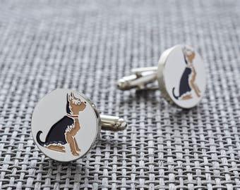 Yorkshire Terrier cufflinks