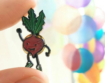 Upbeet Enamel Pin - Lapel Pin