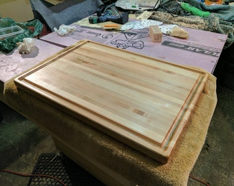 Deposit - Solid Maple carving tray