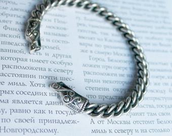 Viking bracelet / Male bracelet / Dragon bracelet / Silver bracelet