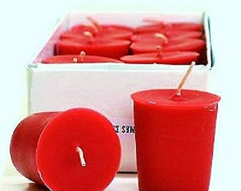 Peppermint Bark 15 Hour Soy Votive Candles Pick A Pack