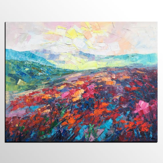 abstract mountain landscape paintings. like this item abstract mountain landscape paintings c