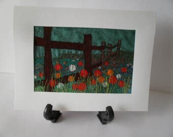 The Meadow Textile Art