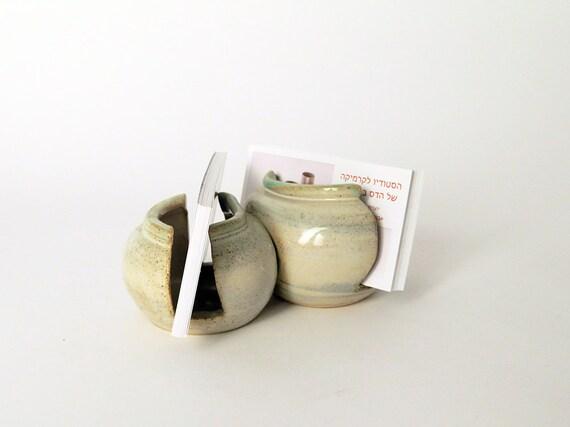 Decorated ceramic card holder ceramic business card holder for Ceramic business card holder