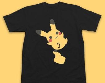 Pokemon Shirt Pikachu - Pokemon Pikachu T-Shirt - Pokemon Shirt - Pokemon t shirt - Inksterinc Pokemon T-Shirt Pikachu Shirt