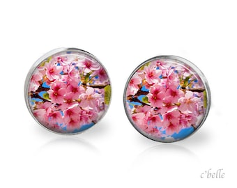 Earrings cherry blossom 50