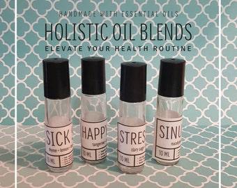Holistic Essential Oil Blends set, Choose your own set of five