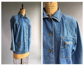 1990's Denim Chore Jacket