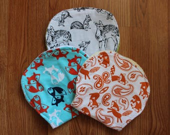 Fox||Foxes||WoodLand Creatures||Fawn||Deer||||Boy Burp Cloth||Girl Burp Cloth||Gender Neutral Burp Cloth||Burp Cloth||Flannel Burp Cloth