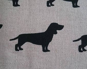 placemats, placemats Dachshund Dachshund, linen structure,