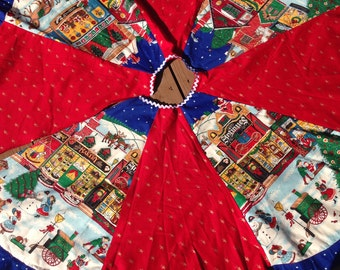 Christmas Tree Skirt - Get Ready for Holidays