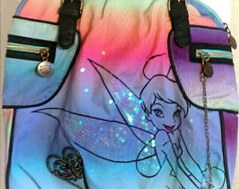 Tinker Bell Large Beach Tote Bag