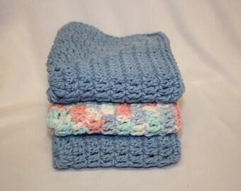 Granny Square Dishcloth Set