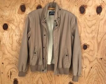Vintage Cappacino Sports Coat w/ Zip hood || Competitive Edge Jacket