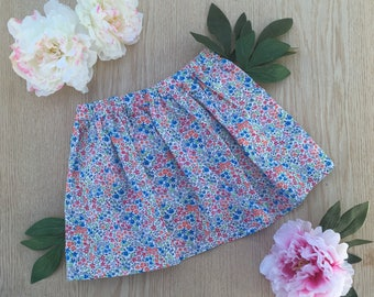 Floral cotton skirt size 5T