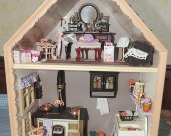 2 storey Dollhouse scale at 1:12