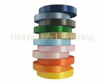 15mm Double Sided Satin Ribbon CE and EN71/3 Approved