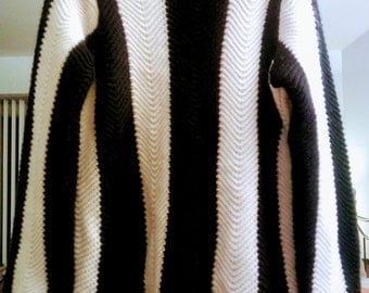 Vintage Jon & Anna Vertical Striped Sweater