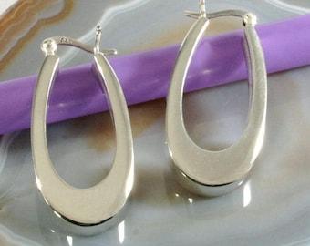 Hoops 925 Sterling silver--Hoops 925 sterling silver-3719