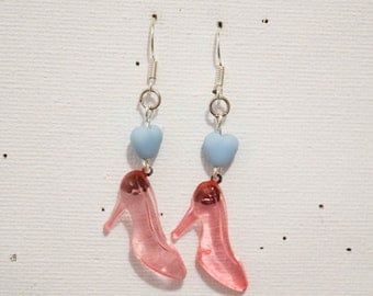 "Earring ""Glass shoes"""