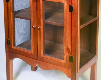 Stand Alone Canning Pantry Cabinet Using Pallets Or Standard