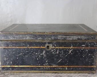 Black Victorian Campaign Tin