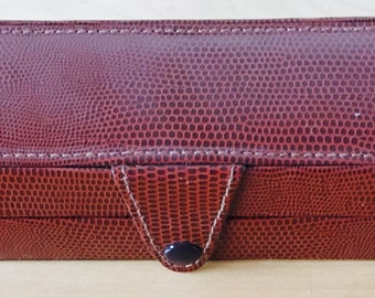Pen Case Italian Leather Portofino 2 Pen Holder