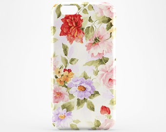 iPhone 8 Case Flower iPhone X Case Floral iPhone 7 Plus Cover iPhone 6 Case iPhone 7 iPhone SE Case iPhone 5 Galaxy S8 Case iPhone 6S Plus