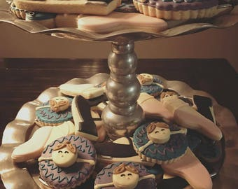 Ballet, Tap, Dance Cookies - ONE Dozen