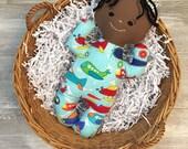 "Handmade Cloth Soft Baby Doll Boy ""Jett"""