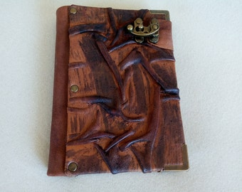 Leather Journal Diary with Lock/ Anniversary book/ Notebook/ Journal/ Gift for Women/Men