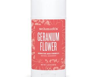 Geranium (Sensitive Skin Stick, 3.25 oz.) - Schmidt's Natural Deodorant