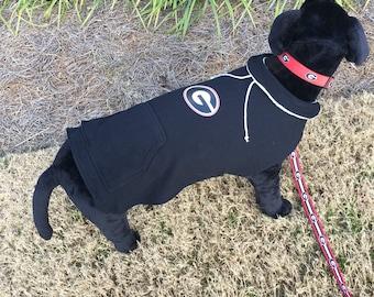 Georgia Bulldogs  Dog Hoodie Coat
