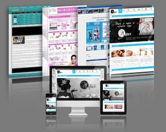 Custom Web Design, Banners design, Website design, Redesign, Theme customization, Template customization