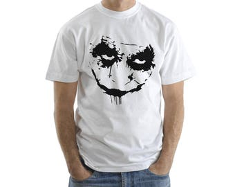 Joker Face, Batman, Shirt, T-Shirts, Gift For her, Gift For him, Custom Shirt, Heat Transfer Vinyl