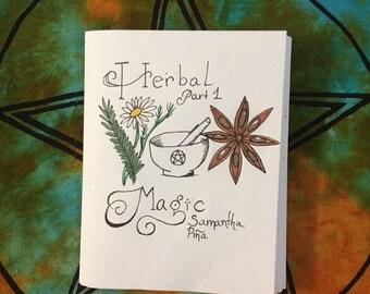 Herbal magic zine part one