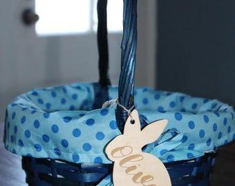 Easter Basket Tags, Gift tags, Easter, Laser Engraved