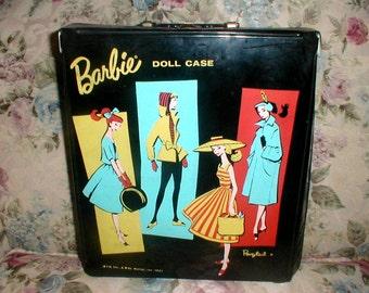 Vintage 1961 Mattel Barbie Case *Great Graphics*