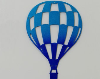 "Metal Art - Balloon 2 -  With Mounting Hole - 12"" tall - (NN2l--)"